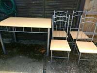 *Quick sale* Dining table and chairs