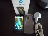 For sale Motorola Moto E3 Mint condition Android OS, v6.0 (Marshmallow)