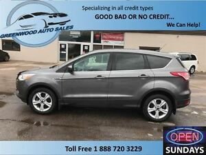 2014 Ford Escape ECOBOOST, CRUISE,AC,BACK UP CAM....FINANCE NOW!