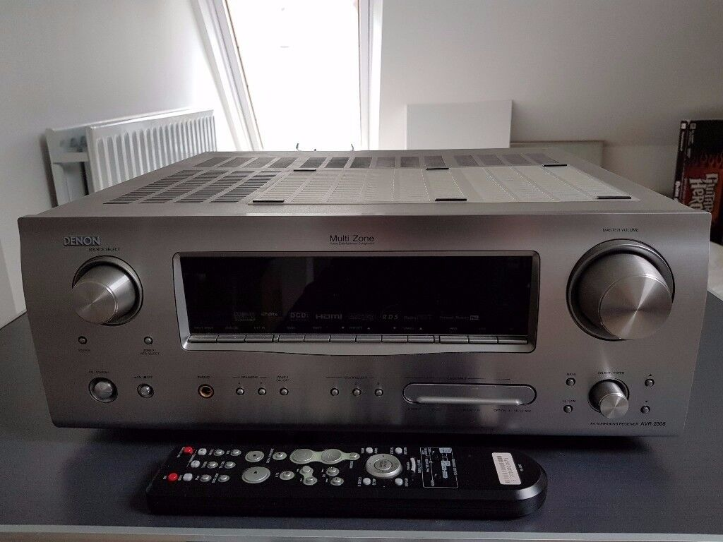 Bose Acoustimass 6 Series III Speakers and Denon AVR 2308 Amplifier