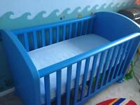 Ikea Mammut cot - blue