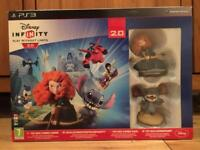 Disney Infinity 2.0 combo pack with PS3 disk