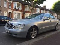 **MERCEDES S320 CDI**DIESEL**AUTOMATIC**SPARES OR REPAIRS**TAX AND MOT**