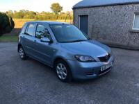 2007 Mazda 2 TD - Long MOT - £30 Road Tax - Super Economical 1.4 Diesel - 60+mpg - Clio Golf Fiesta