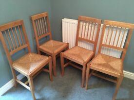 Pine Chairs X4