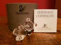 Swarovski silver crystal