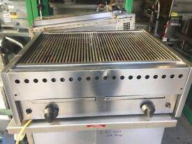 CATERING COMMERCIAL GAS CHARCOAL BBQ GRILL RESTAURANT CAFE KEBAB CHICKEN FAST FOOD SHOP
