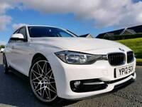 "2012 (Alpine White) BMW 316d Sport! 63,000 MILES ! M Performance Kit! 20"" M3 Competition Alloys!"