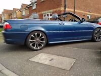 BMW 3 SERIES M SPORT CONVERTIBLE LOW MILES LONG MOT GREAT CONDITION (PX P/X PART EXCHANGE WELCOME)