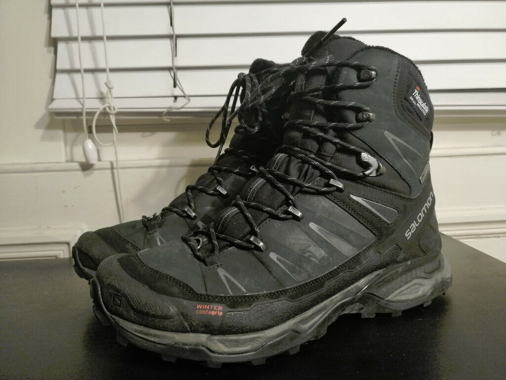 half off ad4b3 a89ef Salomon X ULTRA TREK GTX Thinsulate Waterproof Hiking Mens Boots UK 9.5 RRP  £165 | in Leith, Edinburgh | Gumtree