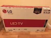 LG brand new LED TV 80cm/32