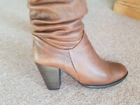 Dune...... Leather Tan Boots