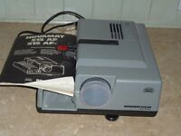 Novamat Slide projector,together with stand and screen. very good condition,