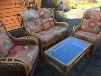Cane Conseratory Furniture