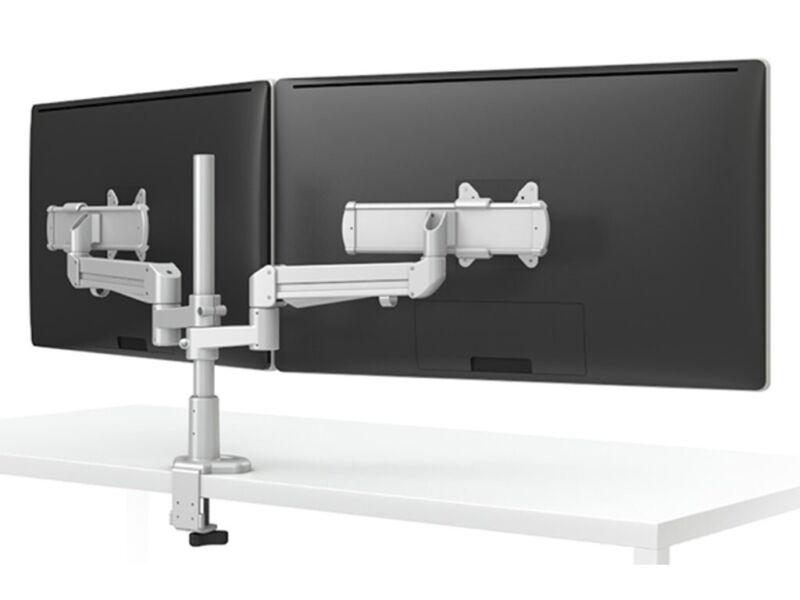 ESI Ergo EVOLVE2-MS-V4-BLK Dual Monitor Arm