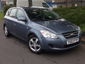 2007 KIA CEED 1.6 CRDI DIESEL *LONG MOT* *VERY CHEAP TO RUN*