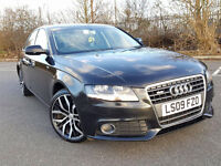 "2009 AUDI A4 B8 2.0TDI 145HP, 2 KEYS, 18"" SANTIAGO WHEELS, FULL LEATHER, VERY CLEAN, L@@K!!!"