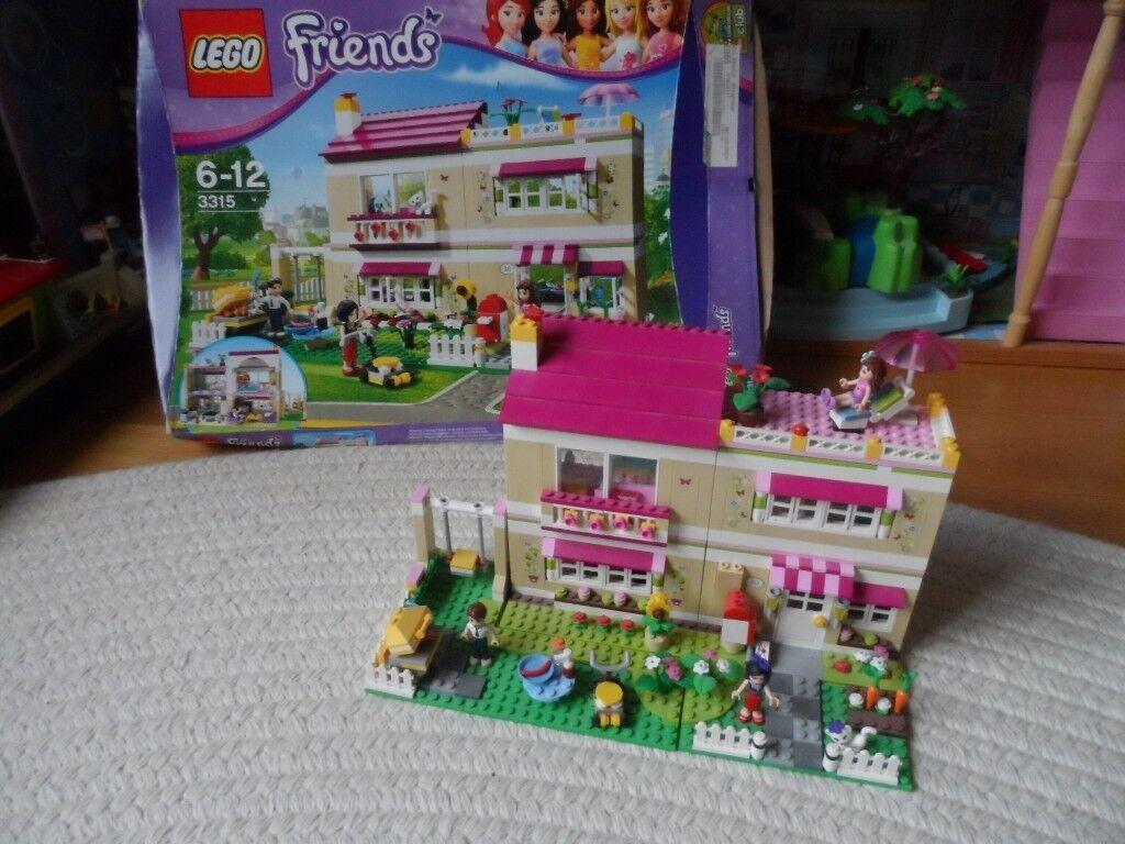 Complete Lego Friends 3315 Olivias House Excellent Condition