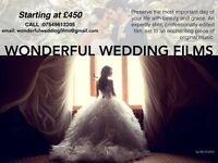 Exceptional Wedding films made by professional film makers. lifetime memories beautifully preserved.