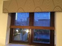 3 wooden blinds