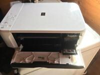 Canon White Printer/Scanner