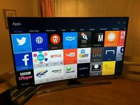 48in CURVED Samsung SMART 3D UHD 4K TV