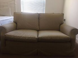 3 piece suite with 2 x two sofas, 1 x armchair - possibly Laura Ashley?