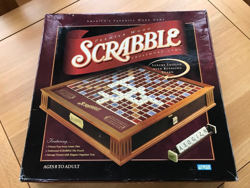Scrabble luxury edition | puzzlewarehouse. Com.