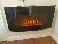 Large electric fire