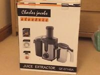 Jucier, by Charles Jacobs, 800W, boxed, almost new