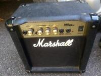 GREAT DEAL! MARSHALL mg10cd VINTAGE 10w amp - $49 (metrotown)