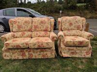 Armchair and sofa - g plan