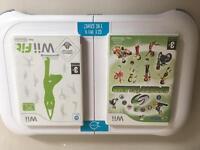 Wii white console + new balance board