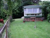 Summer Holiday Caravan, 3 bedroom, on edge of New Forest, 3 miles from sea