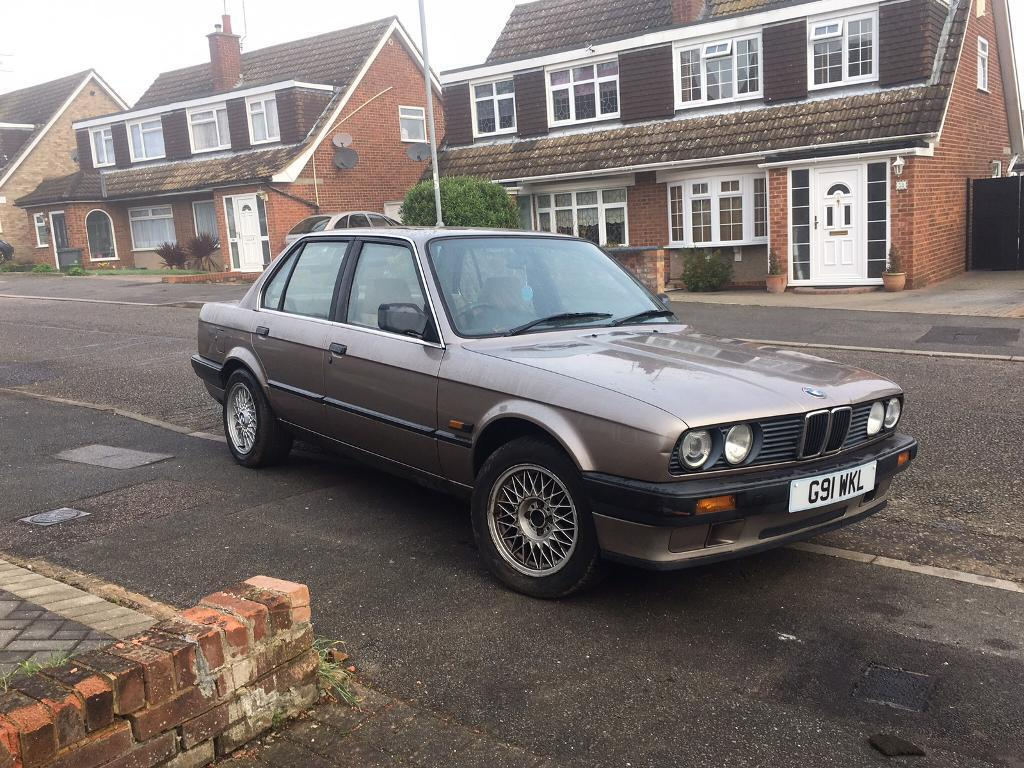 Bmw 1990 E30 316i Automatic Classic Car 4 Door Lovely Body