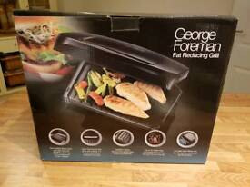 George Foreman grill 5 portion with removable plates