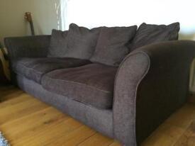 2 x. 3 seater sofas