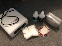 Nail Lamp and Gel kit