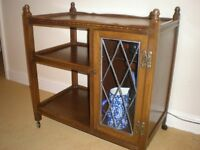 Wood Bros OLD CHARM wine cabinet all in good order