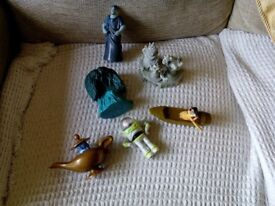 Selection of Mcdonald Disney toys from 80's 90's