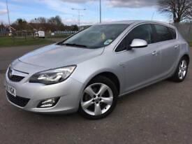 Vauxhall Astra SRi 1.4T Turbo Manual Petrol 52K