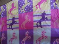 Single duvet cover and pillow case, good condition, lovely pattern