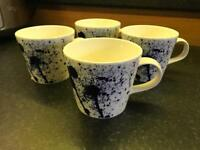 BRAND NEW - Royal Doulton 1815 - Pacific Splash Mugs x 4
