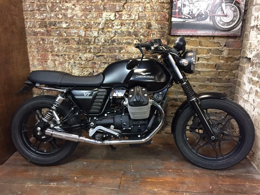 moto guzzi v7 cafe racer scrambler in dalston london gumtree. Black Bedroom Furniture Sets. Home Design Ideas