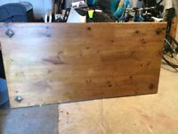 Dining table antique pine
