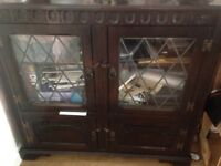 Cupboard glass traditional