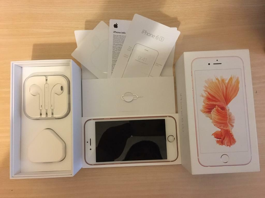 IPhone 6s 16GB rose gold mint condition on 02in GlasgowGumtree - Not a mark on it hardly been used not on contract so buy with confidence IMEI number fully checked against black listed/Stolen/or any other reason looking for £350 Location westend Glasgow Thanks for looking 07387342845