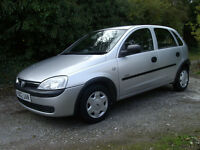 vauxhall corsa 1.2. years mot. excellent drive full service history cd player very tidy .