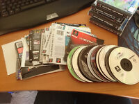 Bunch of random ps1 discs, inserts and manuals