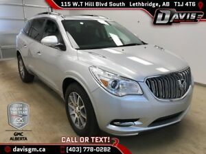 2017 Buick Enclave Leather 7 PASSENGER, HEATED LEATHER, HEATE...